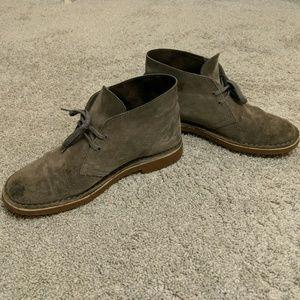 Men's Clarks Bushacre Casual Suede Boots (M 7.5)